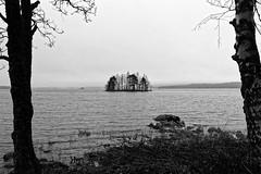 Nurmes (Tuomo Lindfors) Tags: suomi finland nurmes pielinen järvi lake vesi water saari island dxo filmpack blackwhite