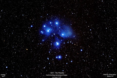 Pleiades_20171017_HomCavObservatory_ReSizedDown2HD (homcavobservatory) Tags: homcav observatory astronomy astrophotography pleiades open star cluster canon 700d dslr orion ed80t apochromatic refractor ipad camranger phd2