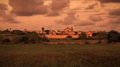 Sunset over S'Alqueria Blanca (Werner Thorenz) Tags: salqueriablanca mallorca balearen espana spanien landscape landschaft sunset sonnenuntergang abendstimmung eveningatmosphere soldelatarde abendsonne eveningsun