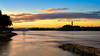 Jupiter Inlet Lighthouse (srotag1973) Tags: lighthouse jupiter floirda sunset cloudsstormssunsetssunrises cloudscape seascape orange blue longexposure formatt hitech