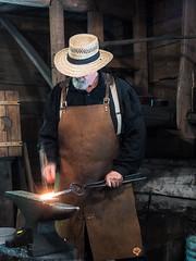 IMGPK00230-A_Fk - Spring Mill State Park - Civil War Days (David L. Black) Tags: stateparks springmillstatepark civilwarreenactment olympuspenf olympus1240f28