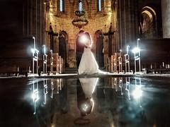 Andrea y Mihai (Antonio Goya) Tags: boda wedding monasterio veruela color colour pareja novios love amor olympus omd dng dzoom xataca micro43 zaragoza españa spain iluminacion indoor