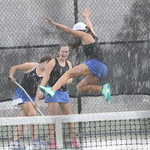 LHS Tennis, Varsity Women, v DF, 10-11