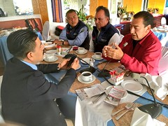 """Informamos en el programa """"Desayunando Con"""", sobre el Programa MAS OAXACA platicamos con @geminianojl68  y @pastormatias02 97.7FM."""