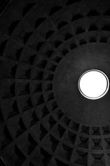 P52 Week 36 | Shadows (Steph*Powell) Tags: pantheon rome italy oculus coffering architecture dome ancient roman nikond5100