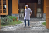 Happy chef (Roving I) Tags: happy smiles chefs pathways planks courtyards timber wood sakedrums doors gateways pebbles greetings restaurants danang vietnam