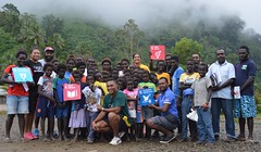 SDG champions awareness in Buka (4) (UNDP Papua New Guinea) Tags: sports sdgs sdgawareness abg arob rugby people men women games awareness autonomousregionofbougainville png papuanewguinea
