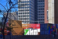 HUBweek (2) (AntyDiluvian) Tags: boston massachusetts cityhallplaza cityhall hubweek exhibition art science technology container shippingcontainer