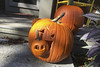 Halloween 2017 (brucetopher) Tags: pumpkin jackolantern lantern light orange monster evil wardoff spirits porch punkin halloween revelry decorations decorate celebrate art sculpture creative