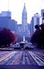 Philadelphia 1976 (eddiegirdner@gmail.com) Tags: philly philadelphia pennsylvania usa streets fountain bullshit william penn congealed labor crapitalism capitalism american oligarchy eddie girdner