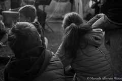 B&W (manuela albanese) Tags: blackwhite bw bambini photo child children family autumn theatre canon genova halloween