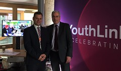 Supporting Youthlink Scotland at Parliamnent