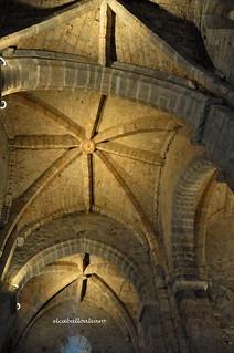 551 – Interior - Iglesia Santa María de Piasca (Cantabria) - Spain.