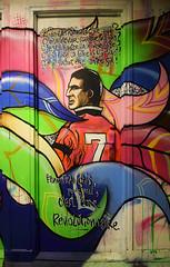 Cantona (HBA_JIJO) Tags: streetart urban graffiti paris art france artist hbajijo wall mur painting aerosol peinture message football murale spray mural bombing urbain mots soccer foot rehab paroles footballeur mu rehab2
