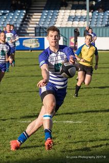 Catch! Jonty Rawcliffe with a pass-0112