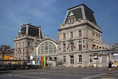 Ostend train station (Krzysztof D.) Tags: kolej bahn railway belgia belgium belgique belgië europa europe dworzec station stacja bahnhof ostenda oostende ostende shiftn