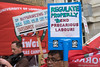 End Precarious Labour - 27 September 2017 (The Weekly Bull) Tags: britishairways deliveroo greenparty iwgb independentworkersunionofgreatbritain migrants tradeunions uvw uber unitedvoicesoftheworld universityoflondon cleaners couriers employment exploitation insecurework lowpay minimumwage outsourcing privatisation unions zerohours