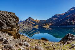 Lac de Roselend - Beaufortin (2017) (gerardcarron) Tags: canon 80d automne lac montagne nature paysage savoie lake landscape eau water sun mountains