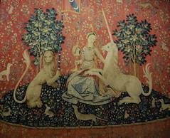 Paris (mademoisellelapiquante) Tags: paris museedecluny museum arthistory medieval middleages tapestry france unicorn