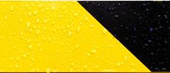 Rainy Minimal (XoMEoX) Tags: regen regentropfen raindrops gelbschwarz schwarzgelb rainy rain minimal minimalistic minimalistisch abstract abstrakt sony rx100m2 dscrx100m2 rx100 yellow gelb black schwarz warnfarben schranke tropfen drops diagonal 2color bicolor zweifarbig signalfarben
