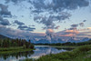 Oxbow Bend Sunrise (glenda.suebee) Tags: summer wyoming 2011 oxbowbend tetons glendaborchelt clouds drama canon rebelt2i f20 29mm 130 1600iso