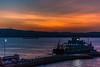 Lapseki 101 (feanorrin) Tags: lapseki çanakkale canakkale turkey boshporus boğaz sunset dusk canon eos 70d tones color adobe ferry ferryboat car tanker truck que