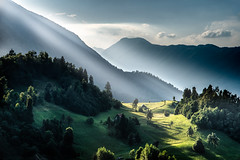 View from Mount Kolovrat, Slovenia