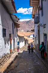 More narrow and steep streets of Cusco.