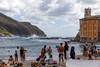 Sestri Levante, Liguria, Italy, Italian Riviera (doublejeopardy) Tags: italianriviera liguria italy beach sestrilevante breakwater places sea it