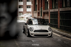 Ben's Mini (stetoppingphoto) Tags: mini r56 unphased car photography manchester northern quarter