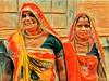 India series (Nick Kenrick..) Tags: hijra india transgender sari rangila eyecontact rajasthan