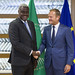 President Tusk meets Moussa Faki, Chairperson of the African Union Commission