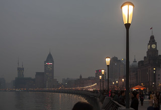 Evening on The Bund