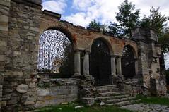 The Belltower of St. Stepanos in Kamianets-Podilskyi, Ukraine (fragment) (videodigit16) Tags: kamianetspodilskyi ruins stonework architecture ukraine church belltower cathedral armenian history archeology