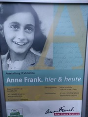 Anne Frank Center poster - Berlin (ashabot) Tags: berlin germany berlingermany wwii war annefrank sadness sad beautifu beauty girl younggirl memorials memorial