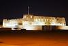 Bahrain by night. Arad Fort (Andrey Sulitskiy) Tags: bahrain muharraq