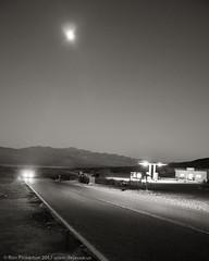 Moonrise Over Panamint Springs (dejavue.us) Tags: panamintsprings d90 nikon mojavedesert california