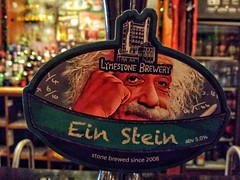 Ein Stein, Wetherspoons (tubblesnap) Tags: ein stein beer pump wetherspoons pub llandudno