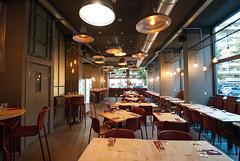 _DSC2126 (fdpdesign) Tags: pizzamaria pizzeria genova viacecchi foce italia italy design nikon d800 d200 furniture shopdesign industrial lampade arredo arredamento legno ferro abete tavoli sedie locali
