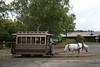 Vervoer zonder haast (Maurits van den Toorn) Tags: tram tramway paardentram horsetram strassenbahn hokkaido museum japan nippon paard pferd horse
