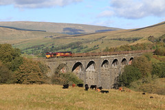 66169 at Dent Head Viaduct (60044) Tags: