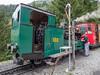 Tending to the locomotive (James E. Petts) Tags: brienzrothornbahn rothorn switzerland brb mountain railway