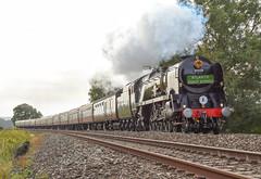 Atlantic Coast Express (Teignstu) Tags: ellerhayes devon railway railtour atlanticcoastexpress 35028 clanline steam engine