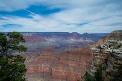 Canyon View (CD_MT) Tags: 1424mm arizona cdmt coloradoriver geologicformation grandcanyon grandcanyonnationalpark nationalpark nikkor nikon nikond4 canyon cloudy landscape sky