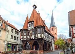 Michelstadt Rathaus (wernerfunk) Tags: fachwerk hessen