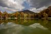 Mount Yonah (Jon Ariel) Tags: reflection whitecounty ga georgia november lake fall colors autumn northgeorgia