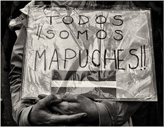 ¡¡TODOS SOMOS MAPUCHES!! (cuma 2013) Tags: canon30d 30d pueblosoriginarios