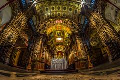 No Mosteiro de São Bento (mariohowat) Tags: mosteirodesãobento longaexposição igrejas igrejasdoriodejaneiro riodejaneiro brasil brazil fisheye canon samyang8mm