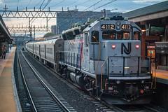 CNJ Cab Car (Nick Gagliardi) Tags: train trains railroad new jersey transit njt nj njtr morris essex me hoboken division dlw cnj gp40ph2 cab car diesel emd electromotive