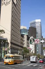 1075 - Market & Montgomery (imartin92) Tags: sanfrancisco california municipal railway muni trolley tram pcc streetcar